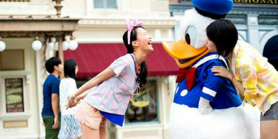 Hong Kong Disneyland Fun with Donald Duck 800x400