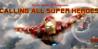 Hong Kong Disneyland Ironman Marvel Heroes 800×400