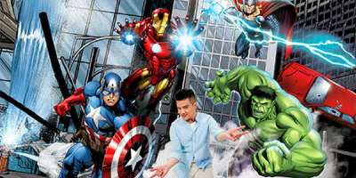 Hong Kong Magical World Marvel Heroes 800x400
