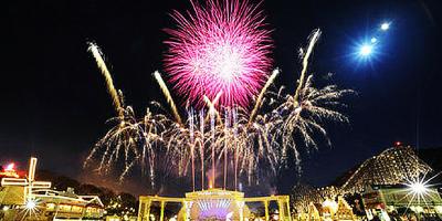 Korea Everland Fireworks Show 800x400