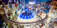 Korea Seoul Lotte World Theme Park Indoor view 800×400
