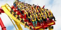 Ocean Park Roller Coaster Thrill