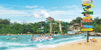 Singapore Adventure Cove Waterpark 1 Daypass Fun Sign 800x400