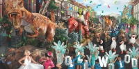 Singapore Universal Studios Singapore 1Day E-Ticket Hollywood Parade 800×400