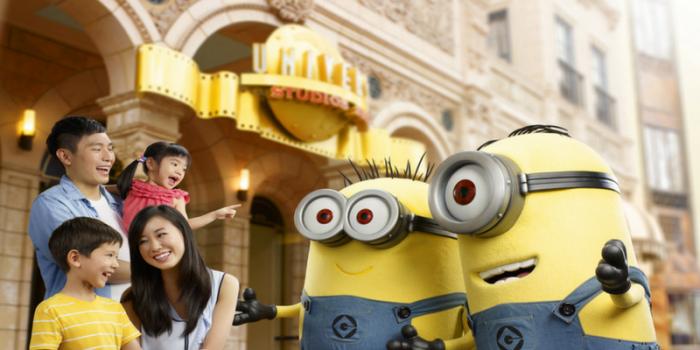 Singapore Universal Studios Singapore 1Day E-Ticket Minion 800×400