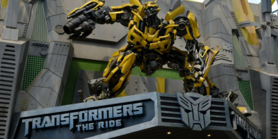 Universal Studios Singapore 1Day E-Ticket Transformers Ride