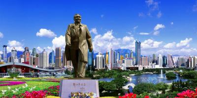 China Shenzhen Deng Xiao Ping Statue 800x400