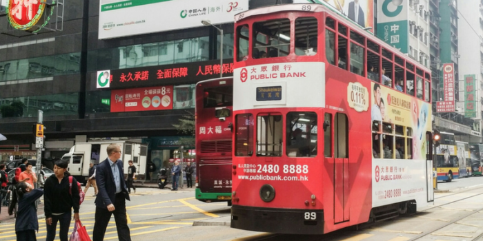 Hong Kong Ding Ding Tram 800×400