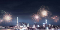 Hong Kong Victoria Harbour Fireworks 800×400