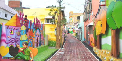 Korea Incheon Songdong Fairy Tale Village Street Art 800x400