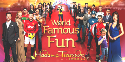 Thailand Bangkok Madame Tussauds World Famous Fun 800x400