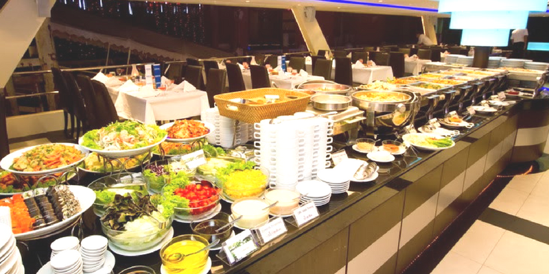 Chao Phraya Princess Dinner Cruise Buffet Dinner Triba