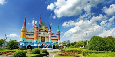 Thailand Siam Park City Castle 800x400