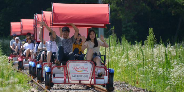 Korea Gangchon Rail Bike Summer 800×400