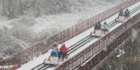 Korea Gangchon Rail Bike Winter 800×400