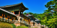 Korea Gyeongju Bulguksa Temple 800×400