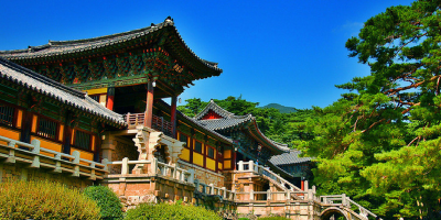 Korea Gyeongju Bulguksa Temple 800x400