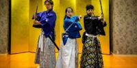 Japan Kyoto Samurai Kembu Show Performance 800×400
