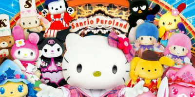 Japan Tokyo Sanrio Puroland Kitty and friends 800x400