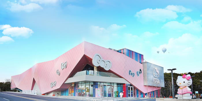 Korea Hello Kitty Island Building 800×400
