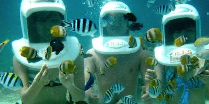 Philippine Boracay Helmet Diving Fun 800×400