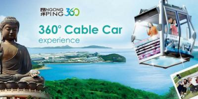 Hong Kong Ngong Ping 360-2Ways Cable Car Experience 800x400