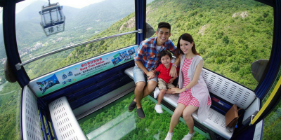 Hong Kong Ngong Ping 360-2Ways Cable Car Ride Crystal Cabin 800x400