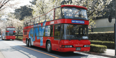 Japan Tokyo Sky Hop-on and Hop-off Bus 24Hours Pass 3 Routes 800x400