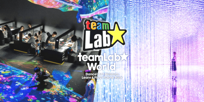 Korea Seoul teamLab World 800×400