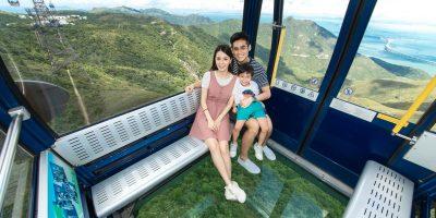 Ngong Ping 360 2 Ways Crystal Cable Car