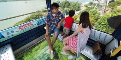 Ngong Ping 360 2 Ways Crystal Cable Car Family