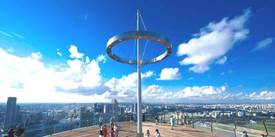 Singapore Marina Bay Sands Skypark Observation Deck 800x400