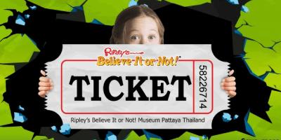 Thailand Pattaya Ripleys Believe It or Not Ticket 800x400