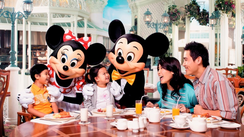 hongkong disneyland food