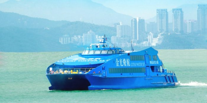Cotai Water Jet Ferry Ticket by Triba-East Travel