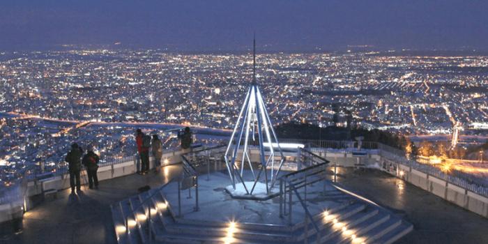 Japan Sapporo Mt Moiwa Night View 800×400