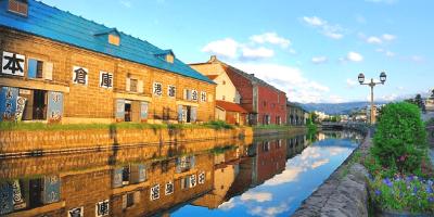Japan Sapporo Otaru Canal 800x400