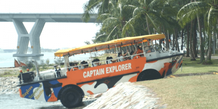 Singapore Captain Explorer DUKW® Tour 800×400