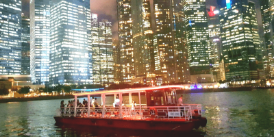 Singapore River Cruise by WaterB night view 800x400