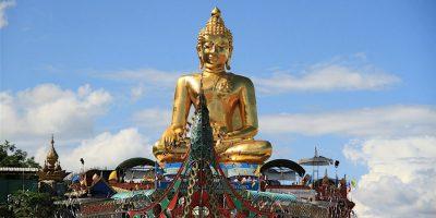 Thailand Chiang Mai Golden Triangle Buddha