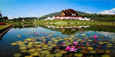 Thailand Chiangmai Royal Flora Garden