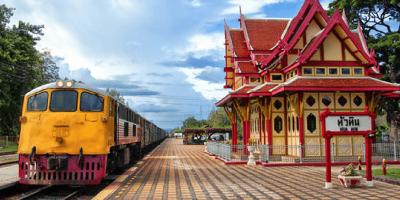 Thailand Huahin Railway Station