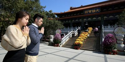 Ngong Ping Lantau Culture and Heritage Insight Tour Temple