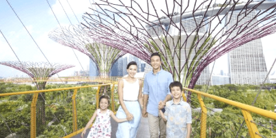 Singapore Garden by The Bay Family Trip 800x400