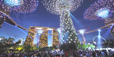Singapore Garden by the Bay + Marina Bay Skypark 800x400