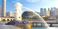 Singapore The Merlion Park City Tour 800×400