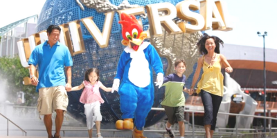 Singapore Universal Studios Family Fun 800x40