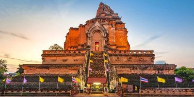 Thailand Chiangmai City Ancient Temple