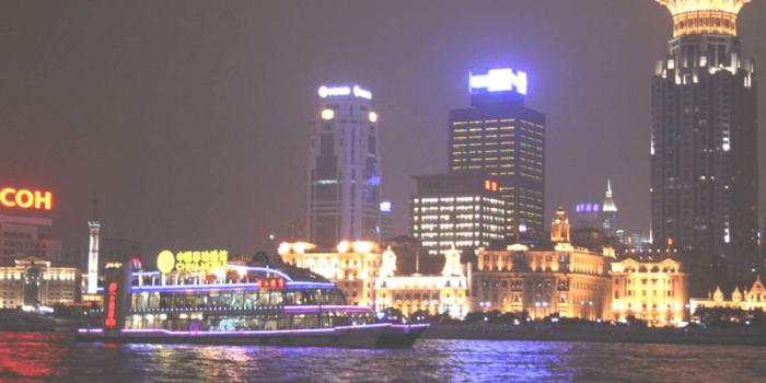 China Shanghai Huangpu River Cruise Night View 800×400