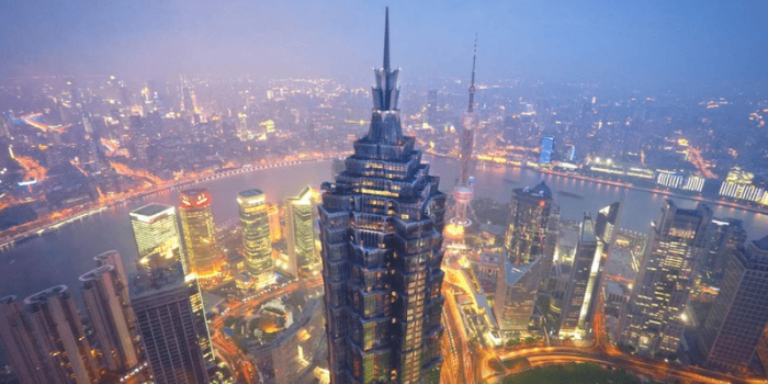 China Shanghai Jin Mao Tower 88th Floor Viewing Platform 800×400
